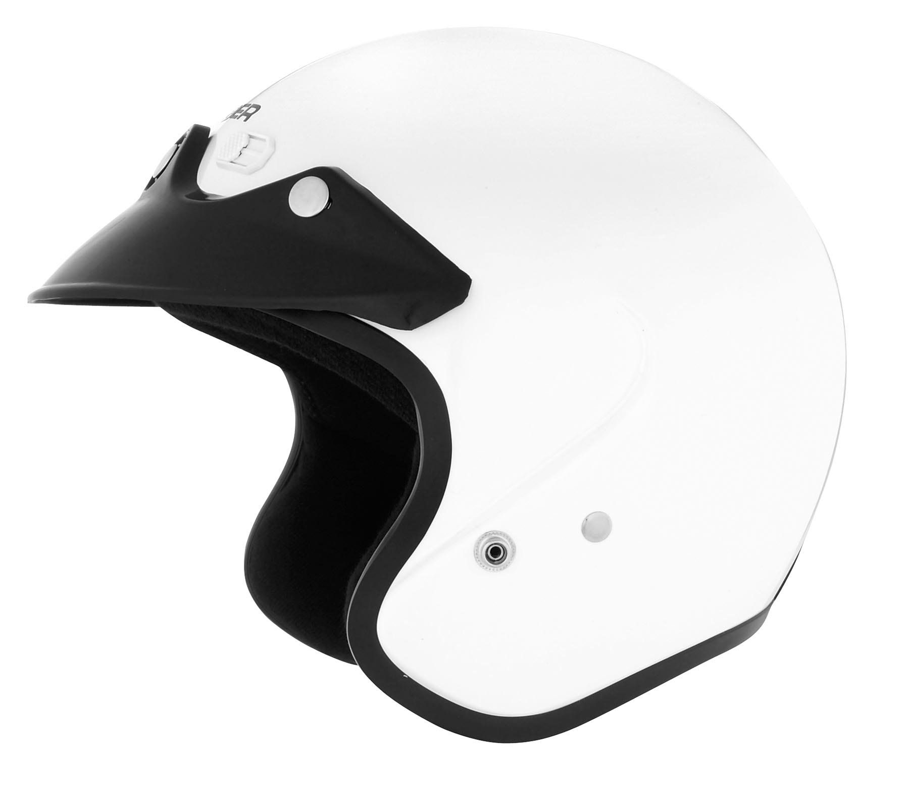 Cyber helmets u solid helmet size lg primary color white