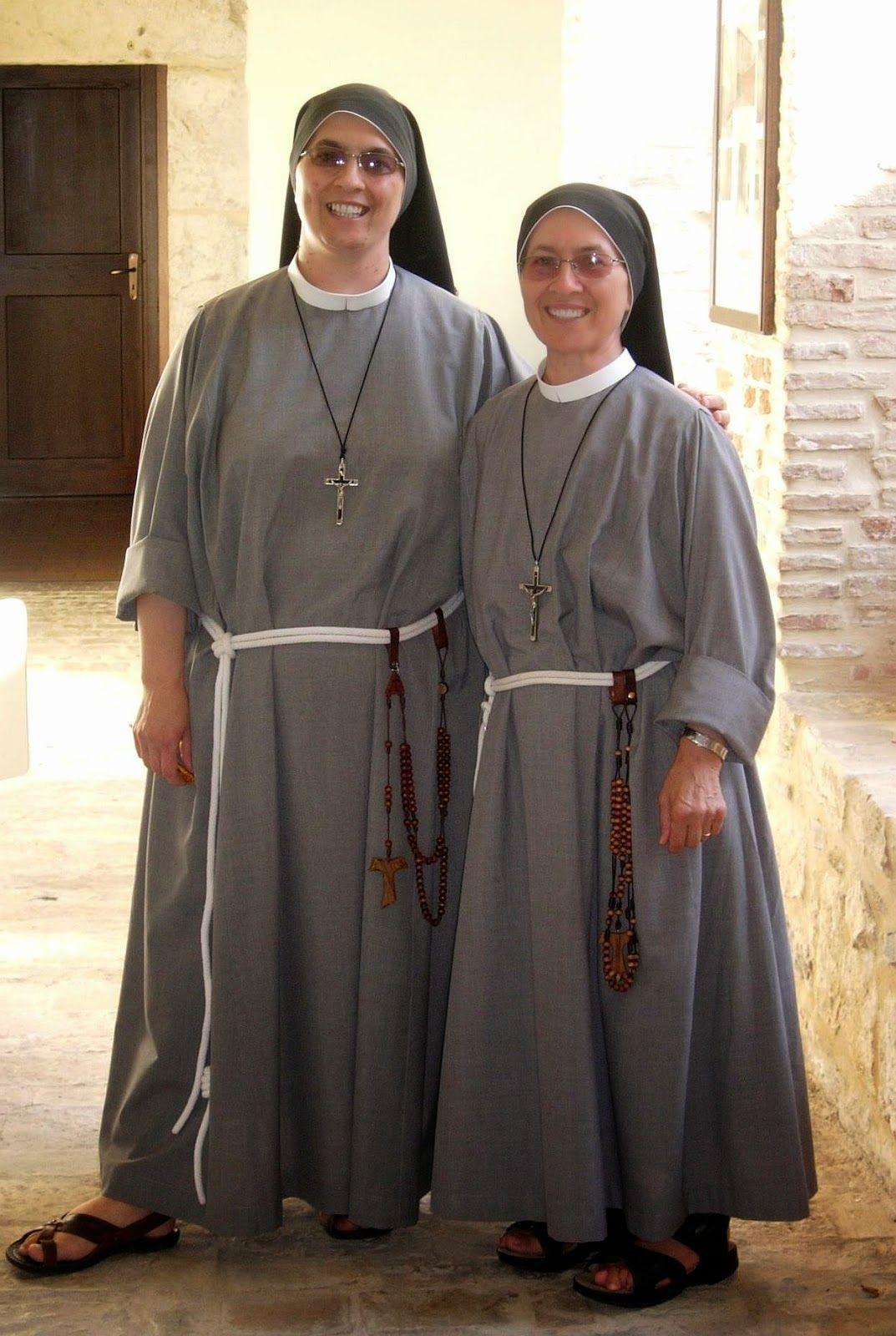 Franciscan Sisters Of Love Nun Dress Women Sisters