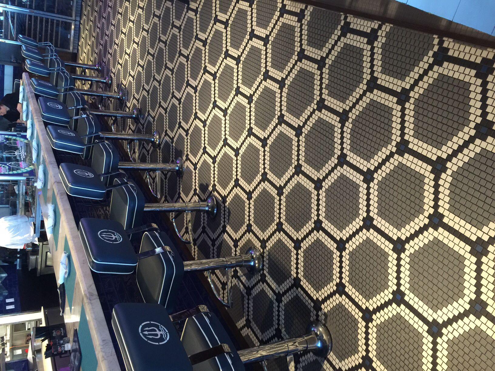 daltile keystone 1x1 mosaic pattern daltile pinterest interiors