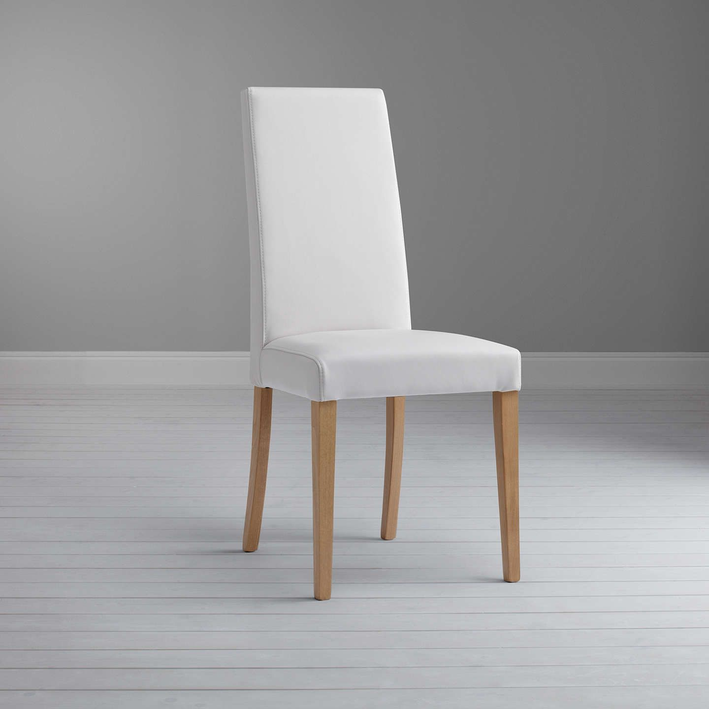 Fantastic John Lewis Partners Lydia Leather Effect Dining Chair Fsc Gamerscity Chair Design For Home Gamerscityorg