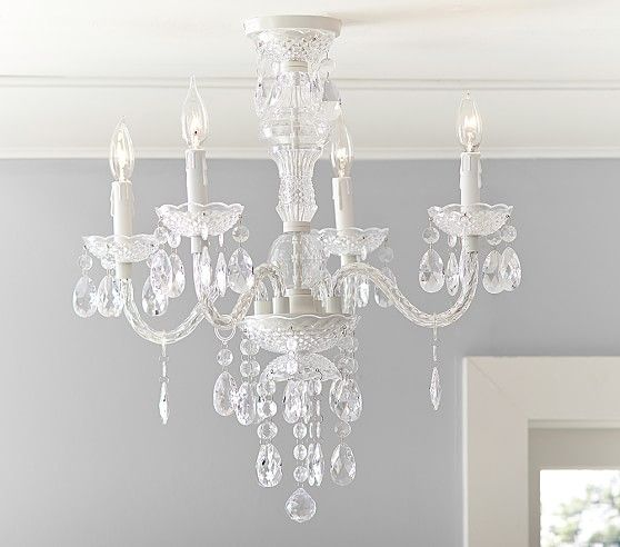 Bella Flushmount Chandelier 199 Pottery Barn Kids I think the – Kid Chandeliers