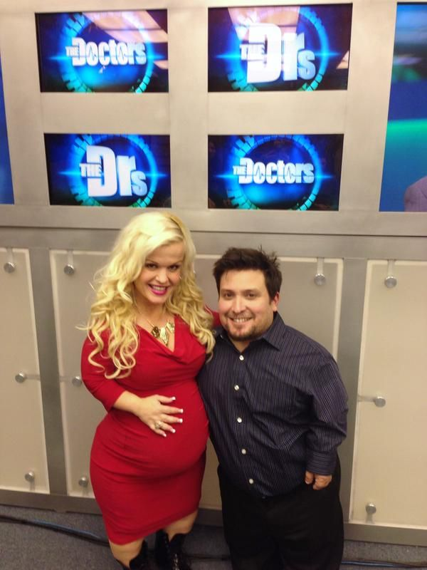 Terra Jole and boyfriend Joe Gnoffo appeared on Wednesday's new episode of 'The Doctors.'