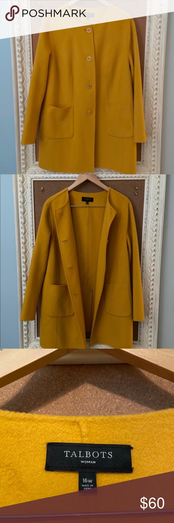 Talbots Wool Jacket 16w Wool Jacket Jackets Talbots [ 1740 x 580 Pixel ]