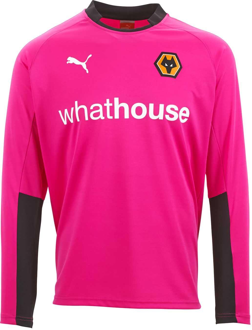 fe98e1eb wolverhampton wanderers pink goalie shirt - Google Search | Pink ...