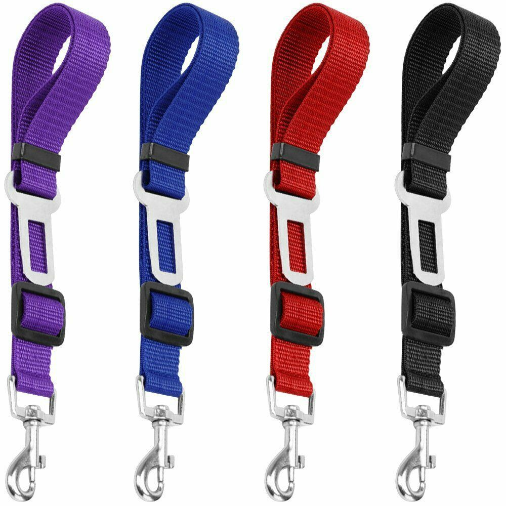 2 Pack Cat Dog Pet Safety Seat belt Clip for Car Vehicle