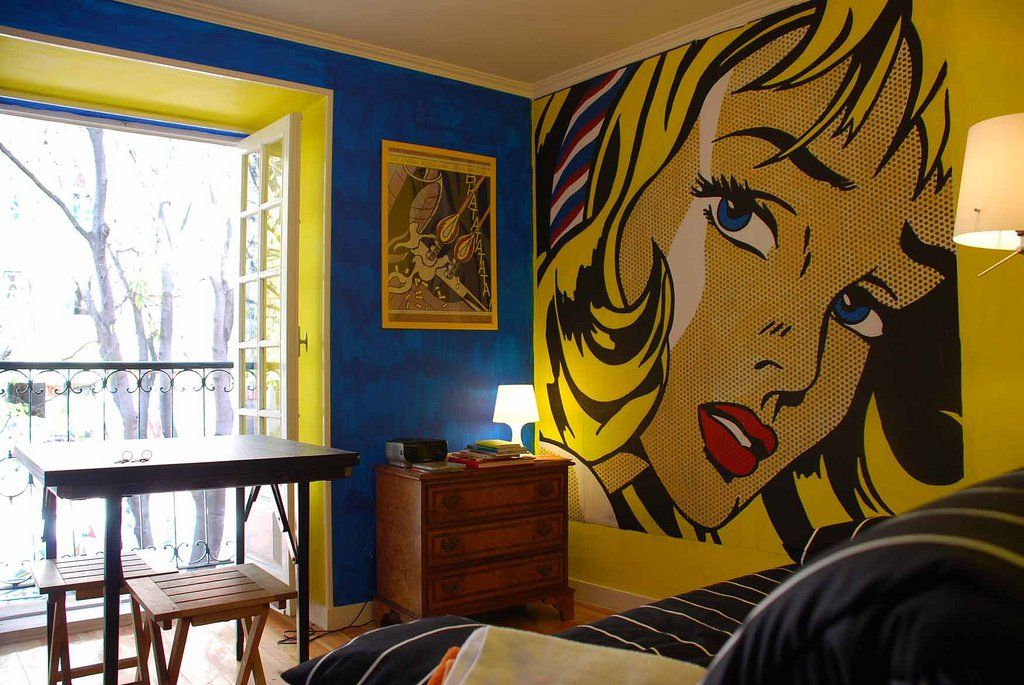 18 Chic Interior Designs Inspired by Pop Art | Interiors