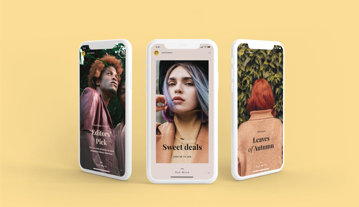 Download Download Instagram Story Mockup For Free You Can Easily Put Your Branding Or Logo On These Mock Ups Wi Instagram Mockup Instagram Story Template Free Instagram