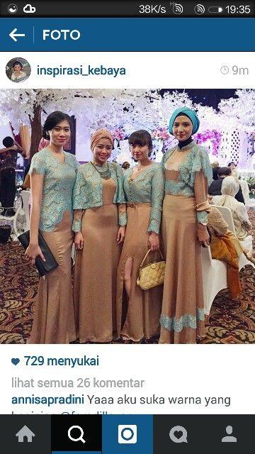 Kebaya Lacedress Lace Indonesia Instagram Muslimwear Muslim