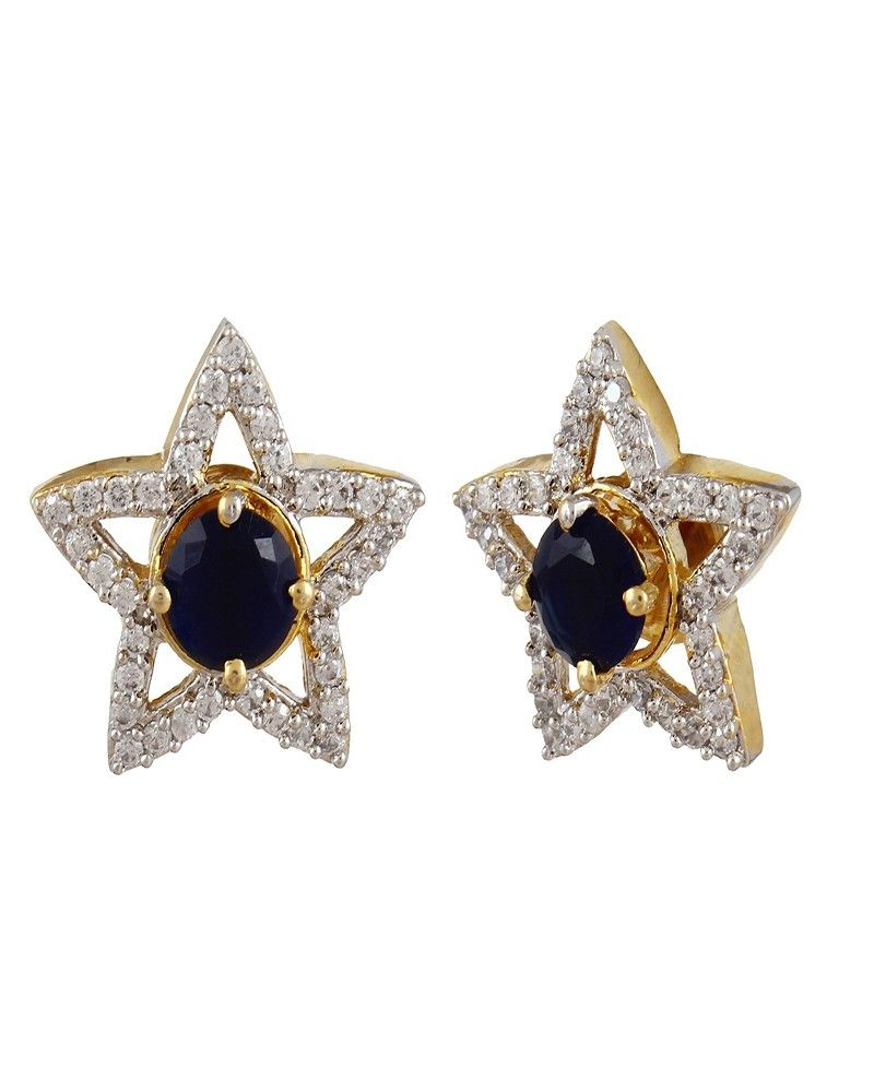 Super Shine Gold Plated Decent Earring