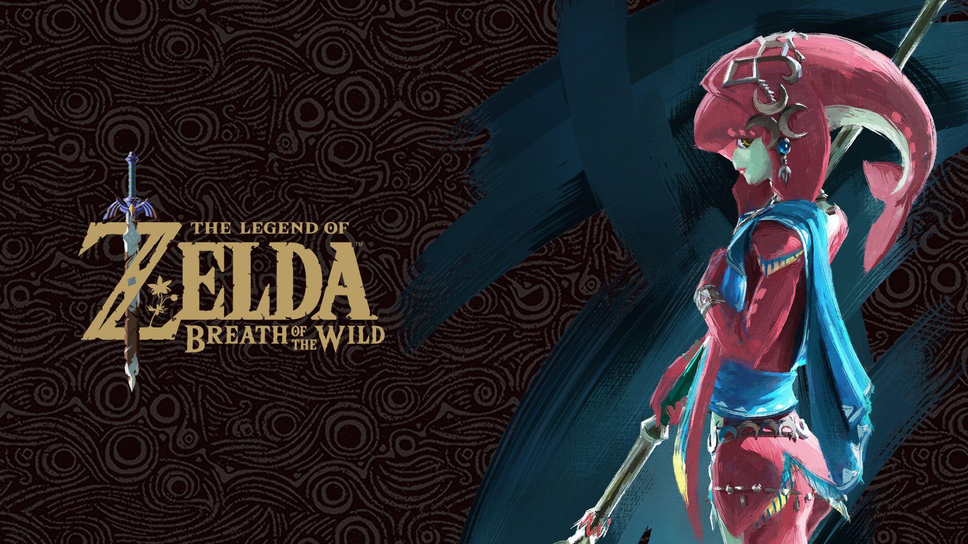 Zelda The Legend Of Zelda Breath Of The Wild Mipha The Legend Of Zelda 1080p Wallpaper Hdwallpape Breath Of The Wild Legend Of Zelda Character Wallpaper