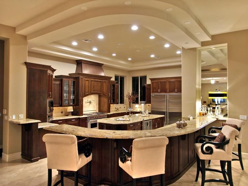 133 luxury kitchen designs page 2 of 26 luxury for Luxury kitchen layout