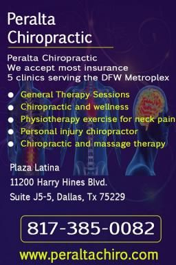 We accept most insurance  5 clinics serving the DFW Metroplex    General Therapy Sessions  Chiropractic and wellness  Physiotherapy exercise for neck pain  Personal injury chiropractor  Chiropractic and massage therapy