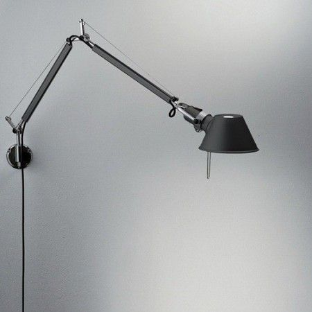 Https Www Exclusivelights Eu Tolomeo Micro Artemide Lampy Exclusive Lights 270 Html Black Wall Lamps Wall Lights Wall Lamp