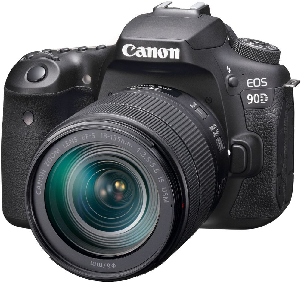 Canon Eos 90d Dslr Camera With Ef S 18 135mm Lens Black 3616c016 Best Buy Canon Dslr Camera Canon Dslr Best Dslr