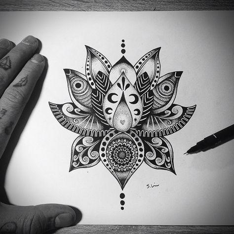 Mandala lotus designs lotus flower tattoo design on tattoos mandala lotus designs lotus flower tattoo design on mightylinksfo