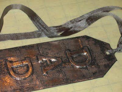 7/26/11  Metal tag