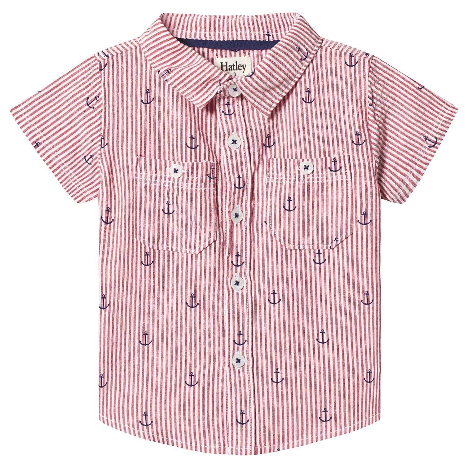 Hatley Baby Boys Short Sleeve Button Down Shirts