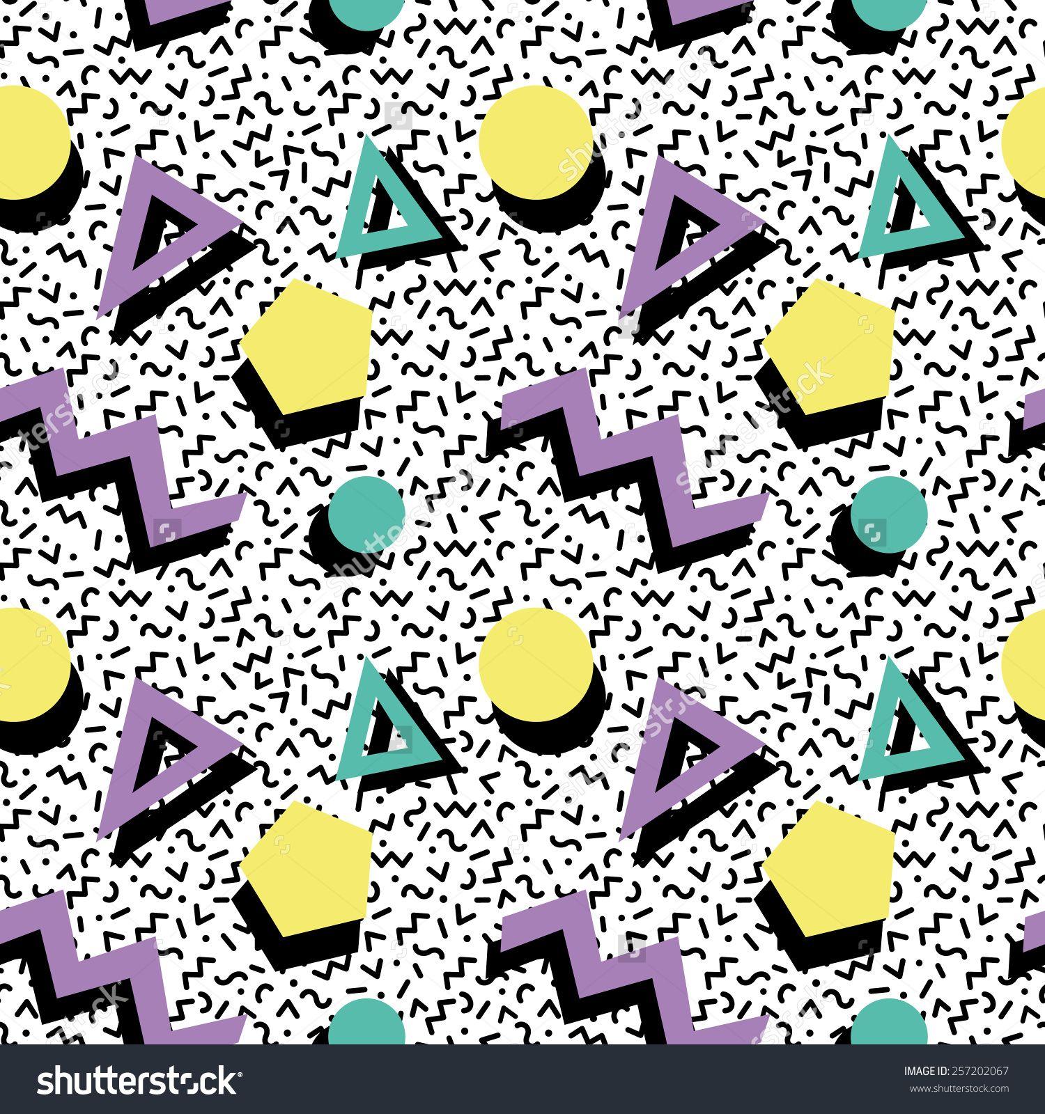 80s Pattern Best Design Inspiration