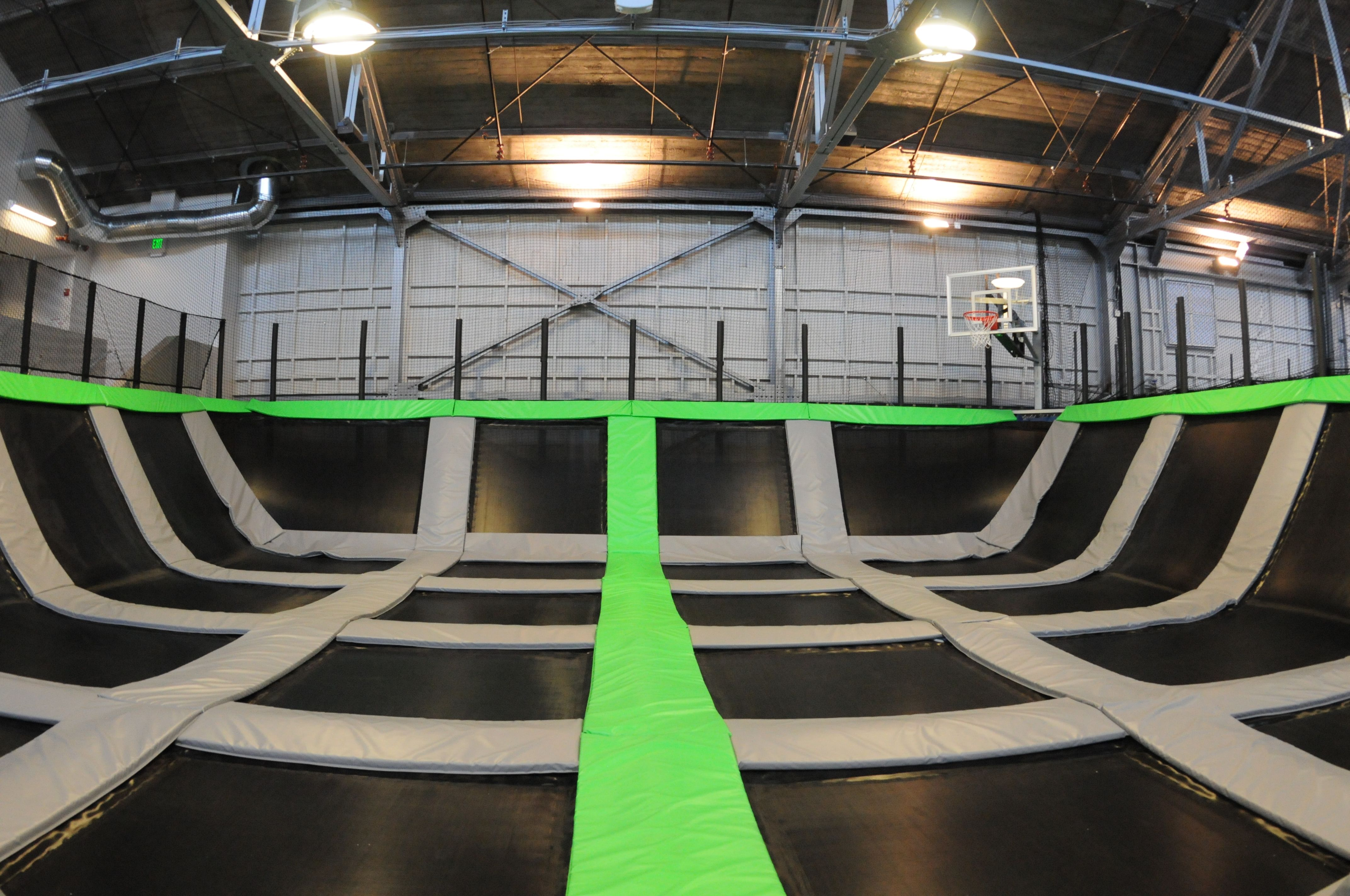 Trampoline room in house -  And Then I Saw This Place House Of Air In Trampoline Roomextreme
