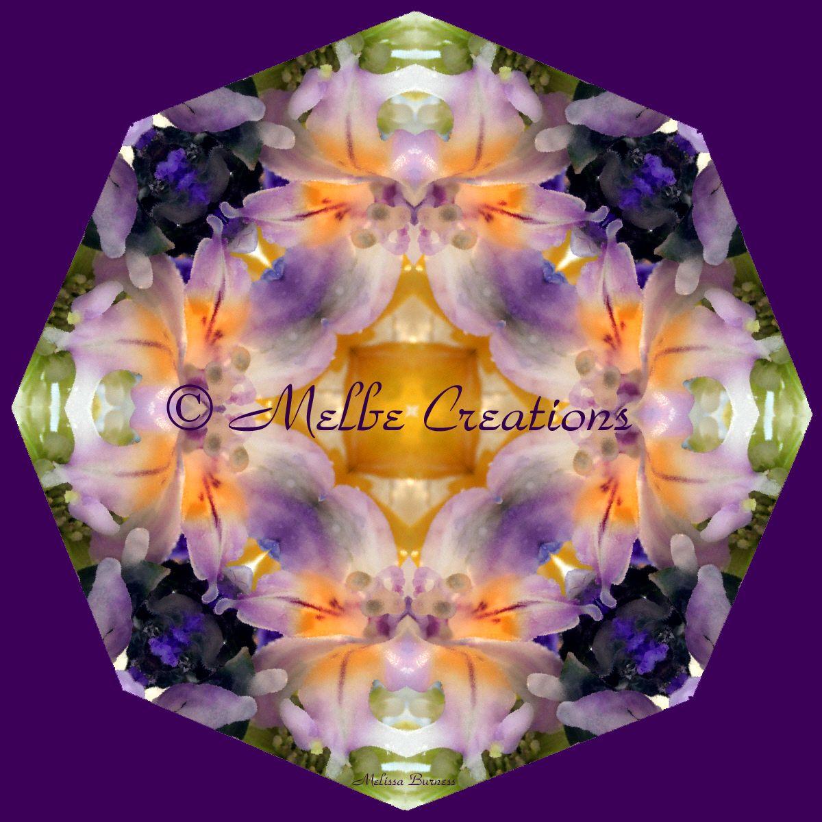 Lily Peruvian Glass Suncatcher Geometric Mandala Kaleidoscope ...