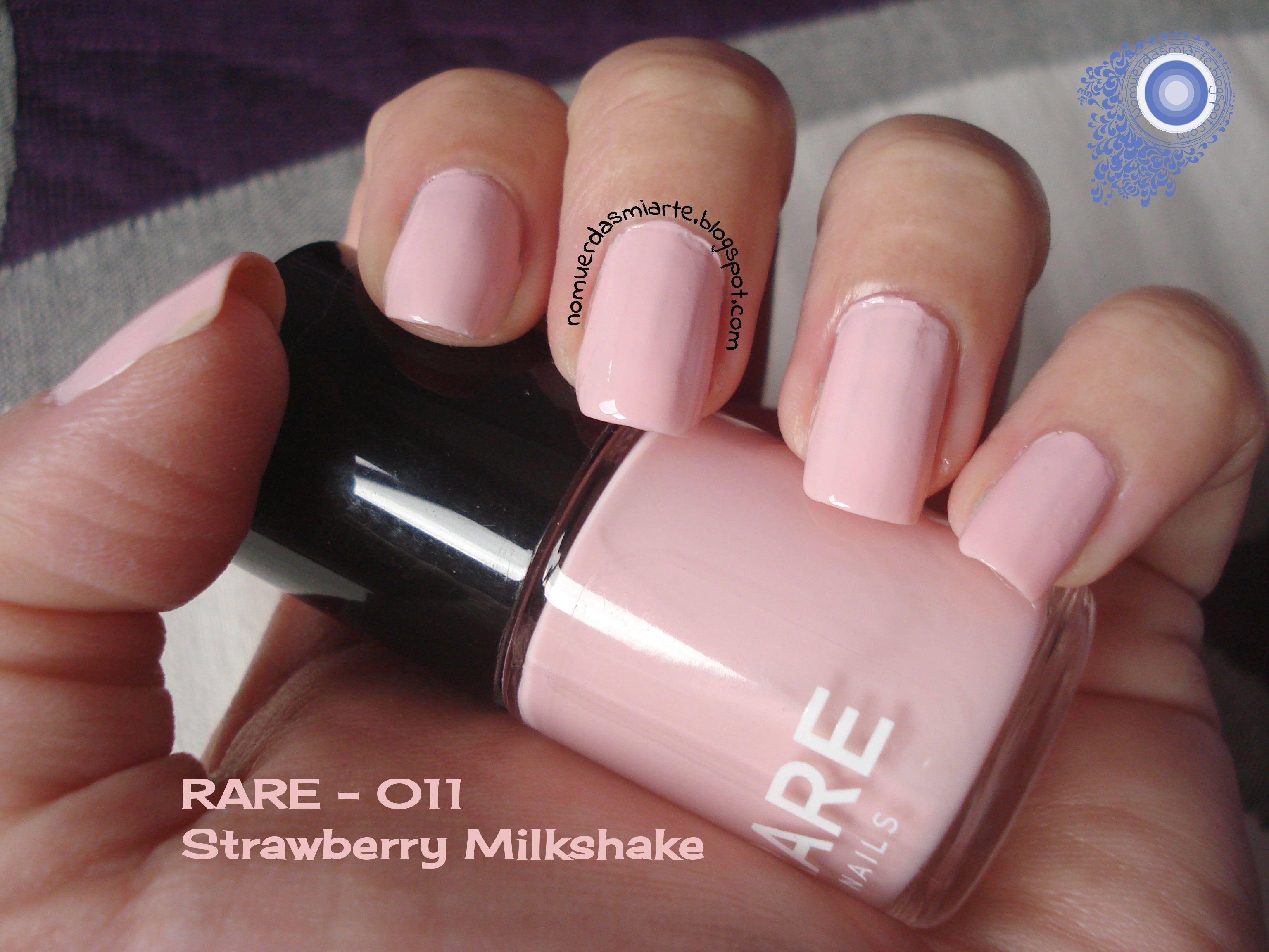 RARE - 011 Strawberry Milkshake (2 coats, no top coat) #nails ...