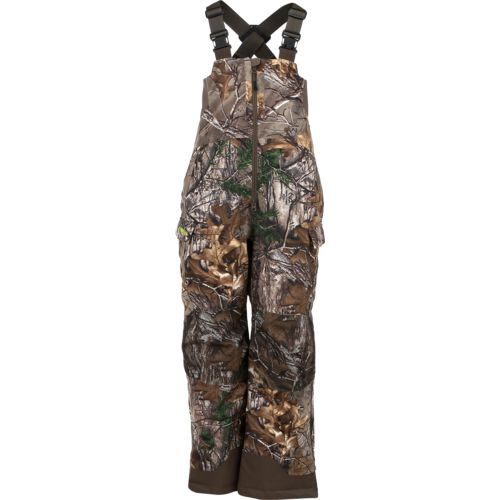 magellan outdoors kids ozark insulated hunting bib camo on walls coveralls camo id=72176