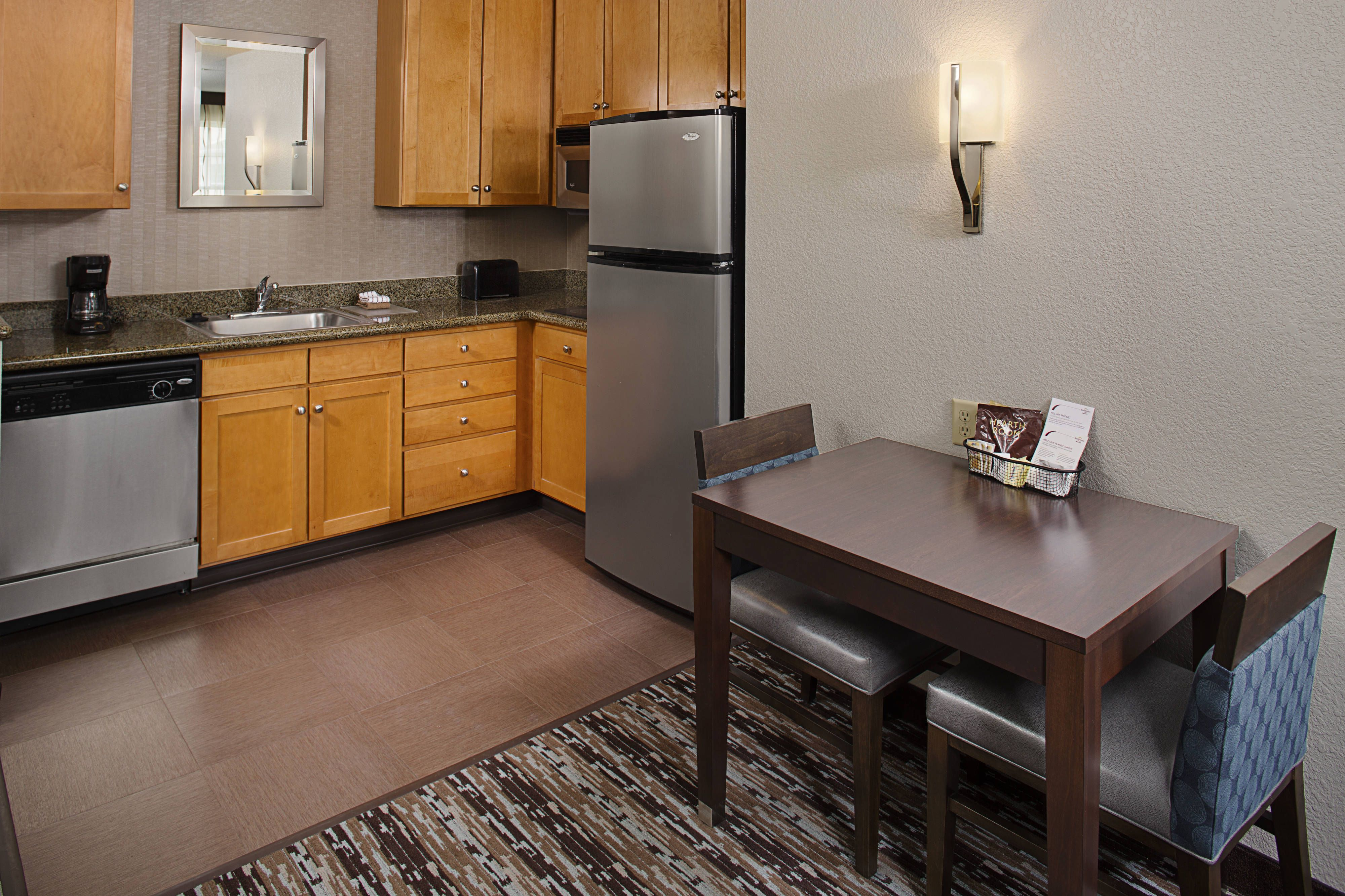 Residence Inn Worcester Studio With Images Residences Kitchen Cabinets Worcester