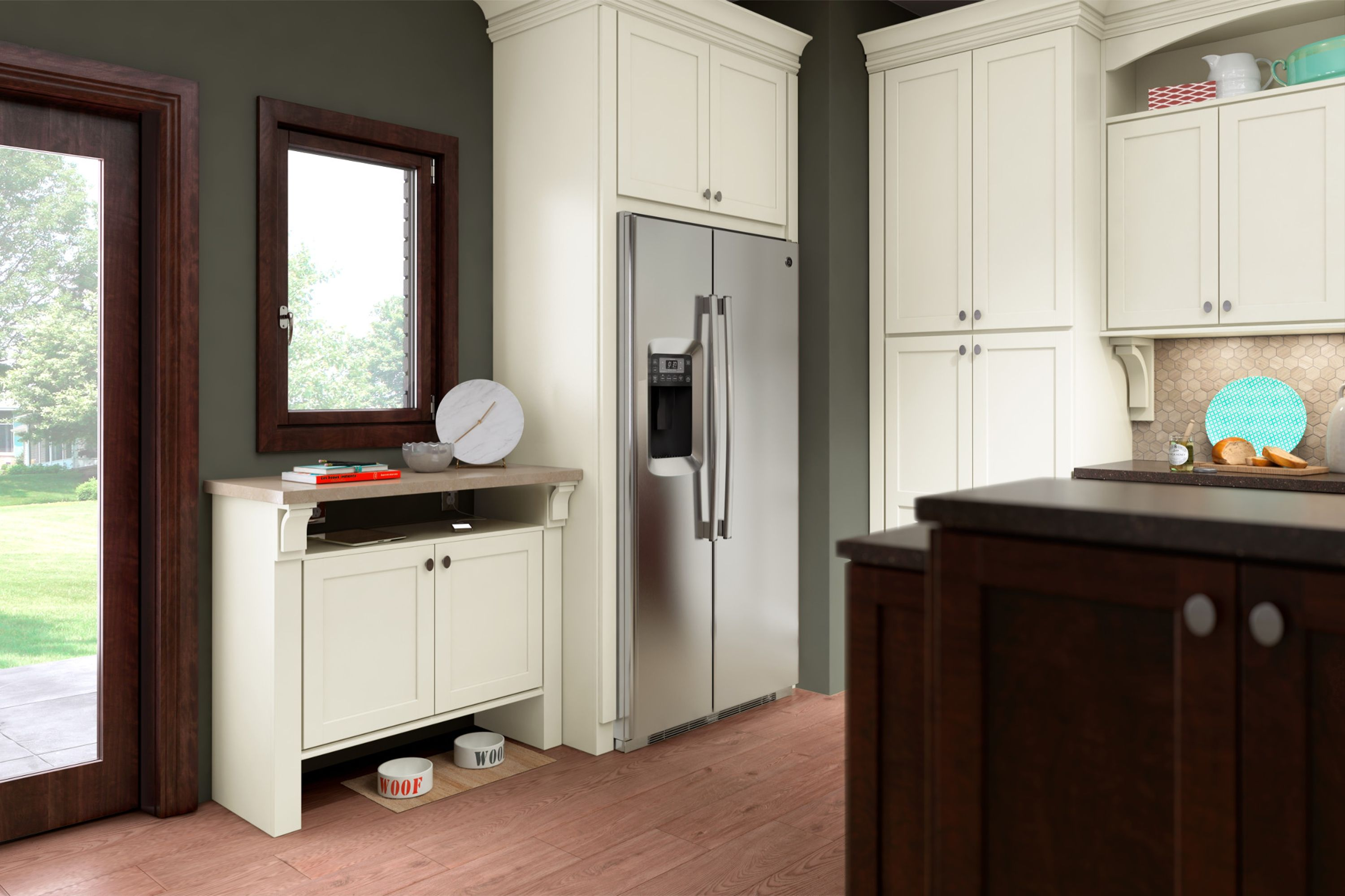 Leesburg Collection | American Woodmark | Shaker style ...