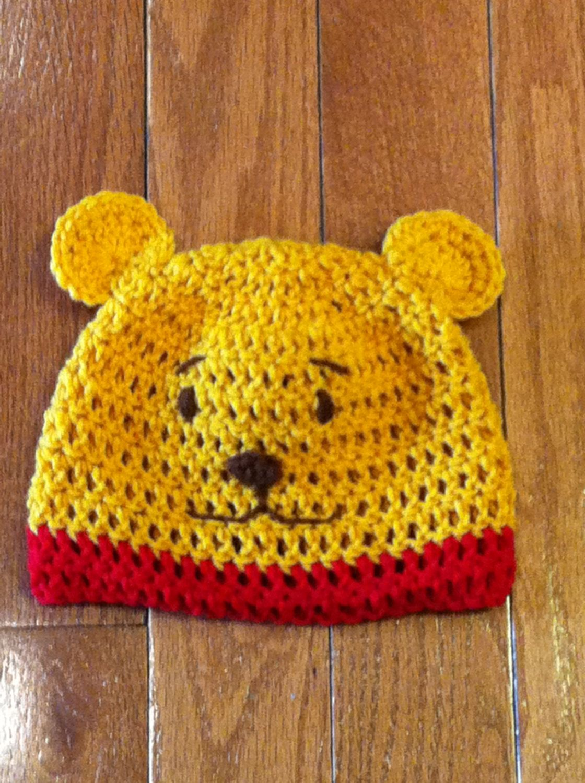 Winnie the Pooh Beanie Pooh Beanie Winnie the Pooh Hat-photo prop ...