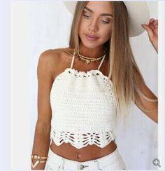 b0b6091c9dc ¡El estilo lo creas Tú! Encuentra Tops Tejidos A Mano En Crochet - Ropa y  Accesorios en Mercado Libre Colombia. Descubre la mejor forma de comprar  online.
