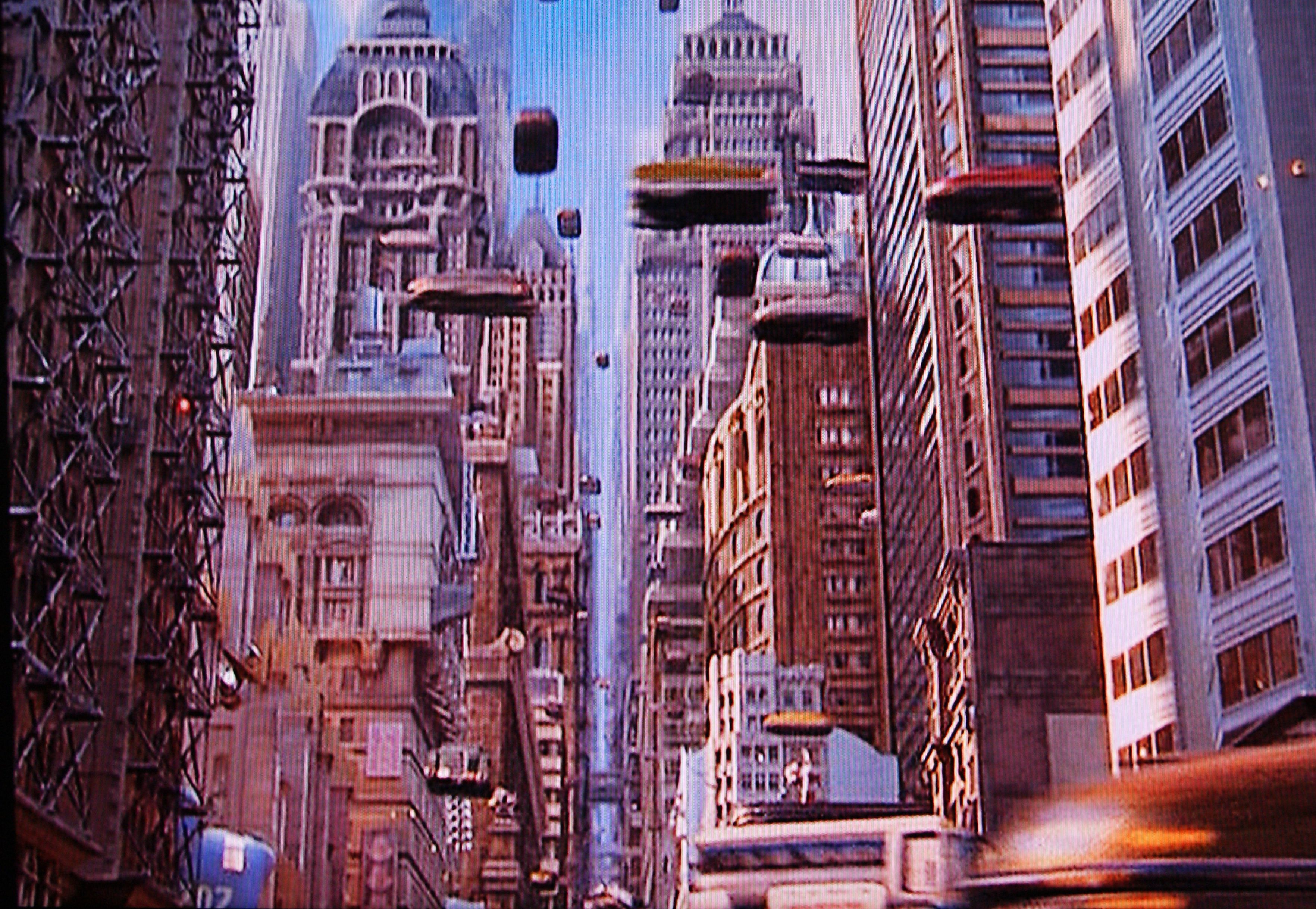 the fifth element the car chase into the fog which was