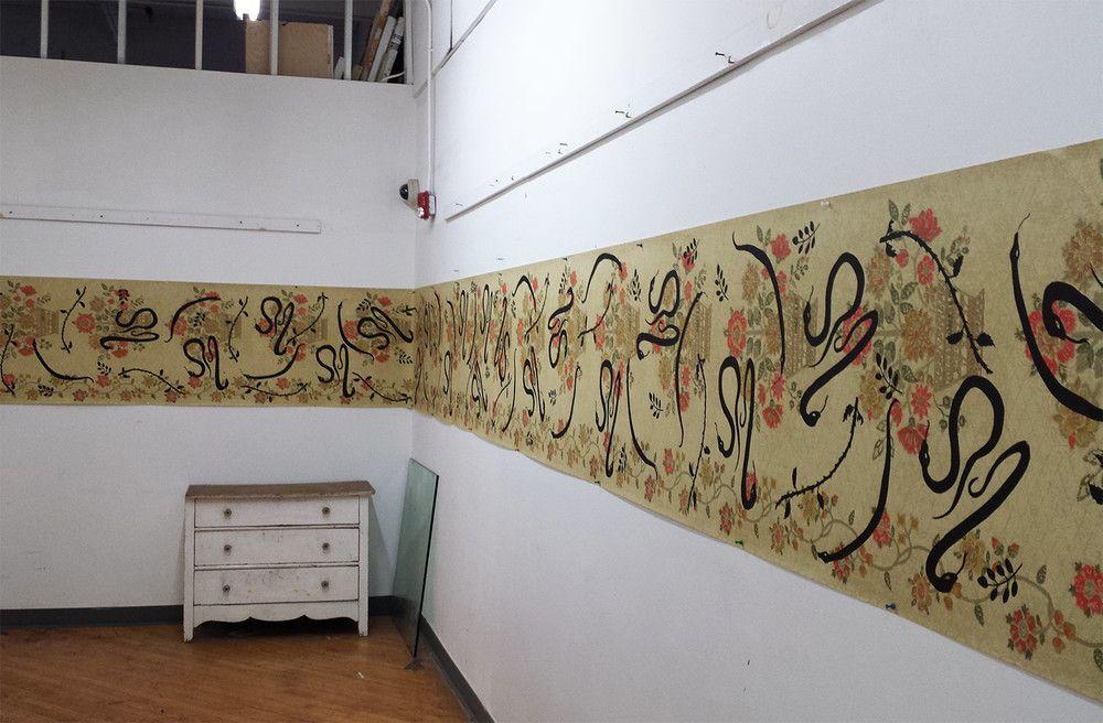 Snake Wallpaper, by John Biebel Snake wallpaper, Home