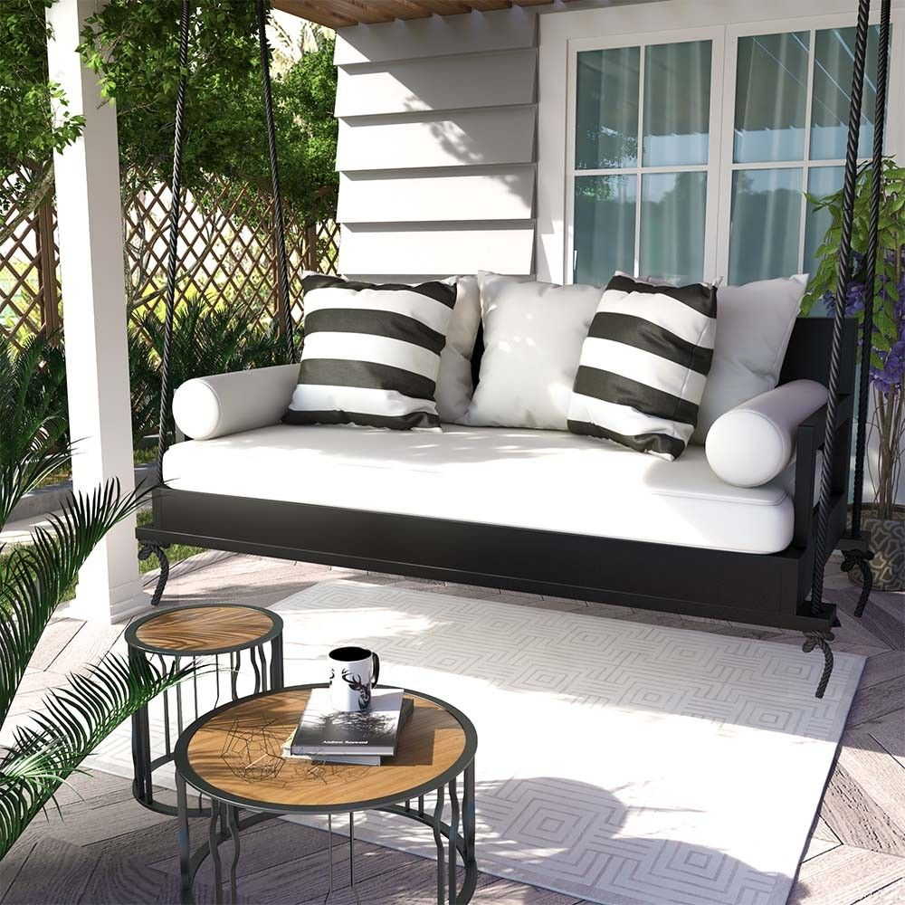 Breezy Acres The Burg Daybed Swing In