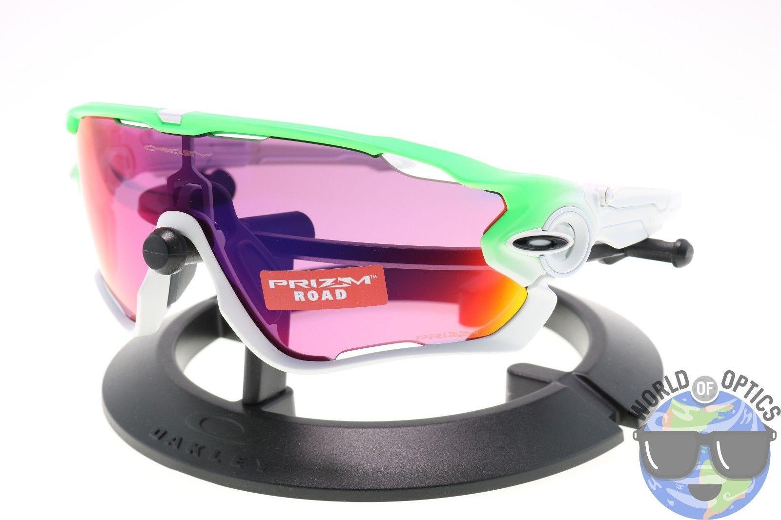 2acc63a850 Oakley Jawbreaker Sunglasses OO9290-15 Green Fade Edition w  Prizm Road  Lens