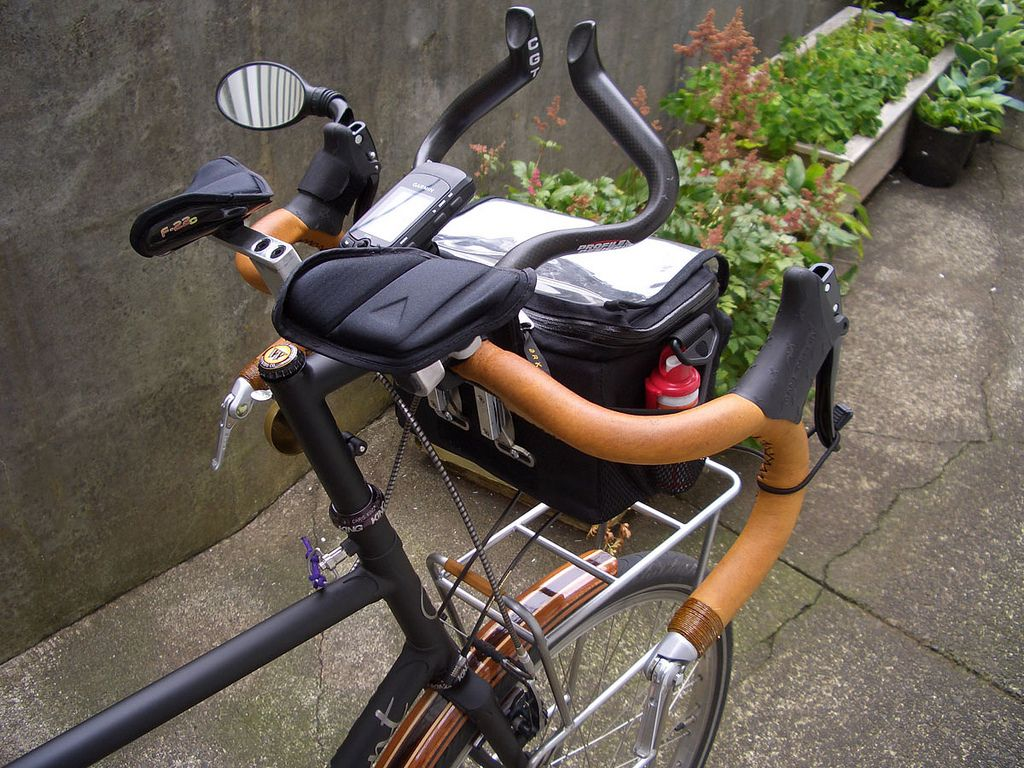 Aero Bars Bicycle Gear Adventure Bike Touring Bicycles