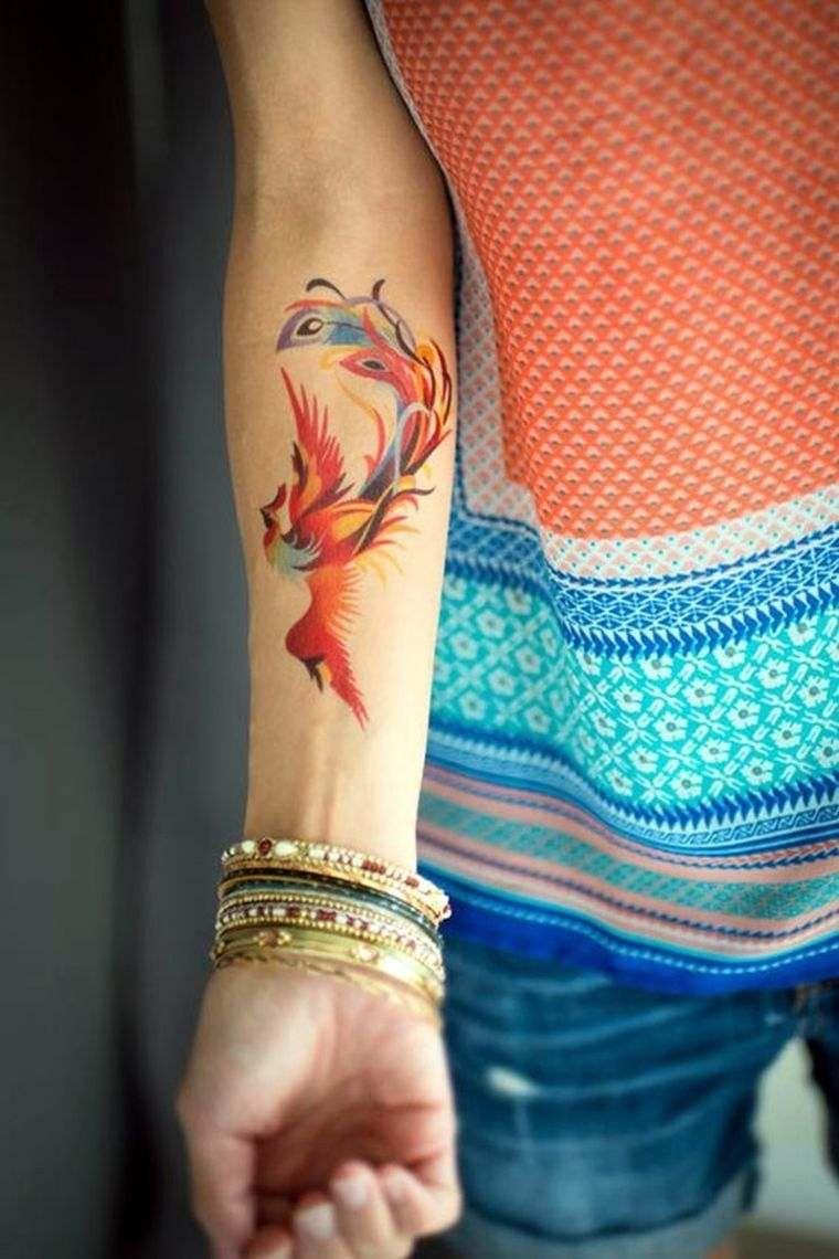 Le Tatouage Oiseau En 8 Idees Tattoo Et Leur Signification Phoenix