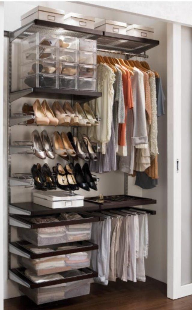 Elfa wardrobe storage from howard 39 s storage world ireland - Howards storage ...