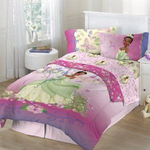 Princess Tiana Bedding Sets Disney Princess And The Frog 4pc Twin Comforter And Sheet Bedding Set Princess Comforter Princess Bedding Set Girls Princess Room