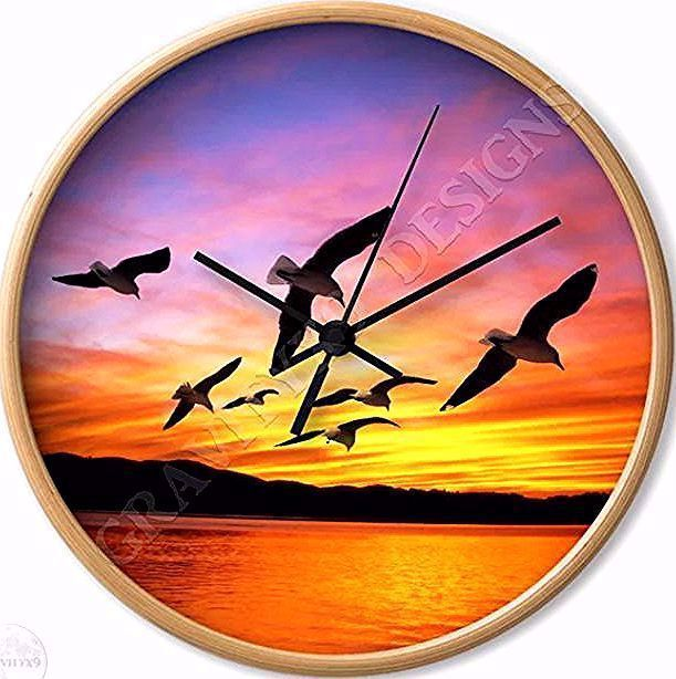 * #SummerSunset Seagull Sunset Wall Clock by #Gravityx9 at Society6 * custom wall clock home decor ideas * wall clocks decor ideas * wall clocks custom * wall clocks customize * home decor clocks * home decor wall clocks * wall clock decor living room * wall clock decor kitchen * wall clocks round * #wallclock #clock #time  #walldecor #kitchenclock #homedecor  #summertheme #beachdecor    #seagulls #sunset #beachdecor #summer