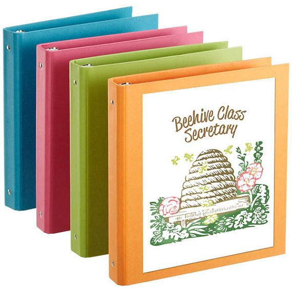 20 LDS Young Women Binder Covers For President, Counselor