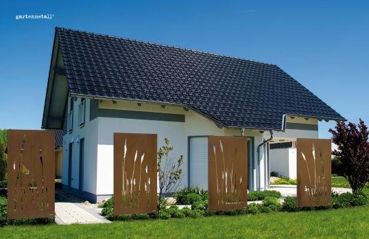 Tipps · Aussen · Deko · Gartenmetall®   Gartenobjekte Aus Metall    Sichtschutz