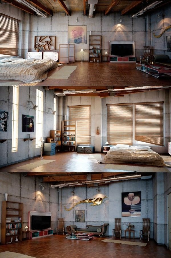 Loft Design Inspiration Industrial Loft Design Loft Design