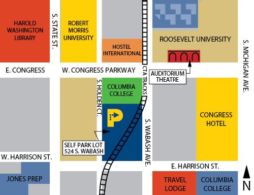 Columbia College Chicago Map columbia college chicago campus map   Google Search   Maps I Like