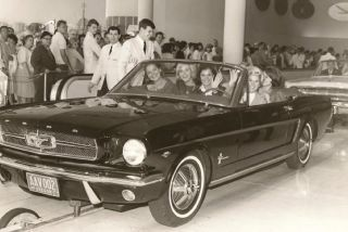 1965 Ford Mustang Miss Smile
