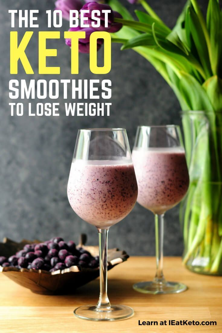 Your guide to how to build the perfect Keto Smoothie! Along with 10 of the best keto smoothies for a...