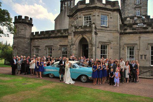 Winton Castle Is A Unique Century Romantic Wedding Venue Near Edinburgh In East Lothian