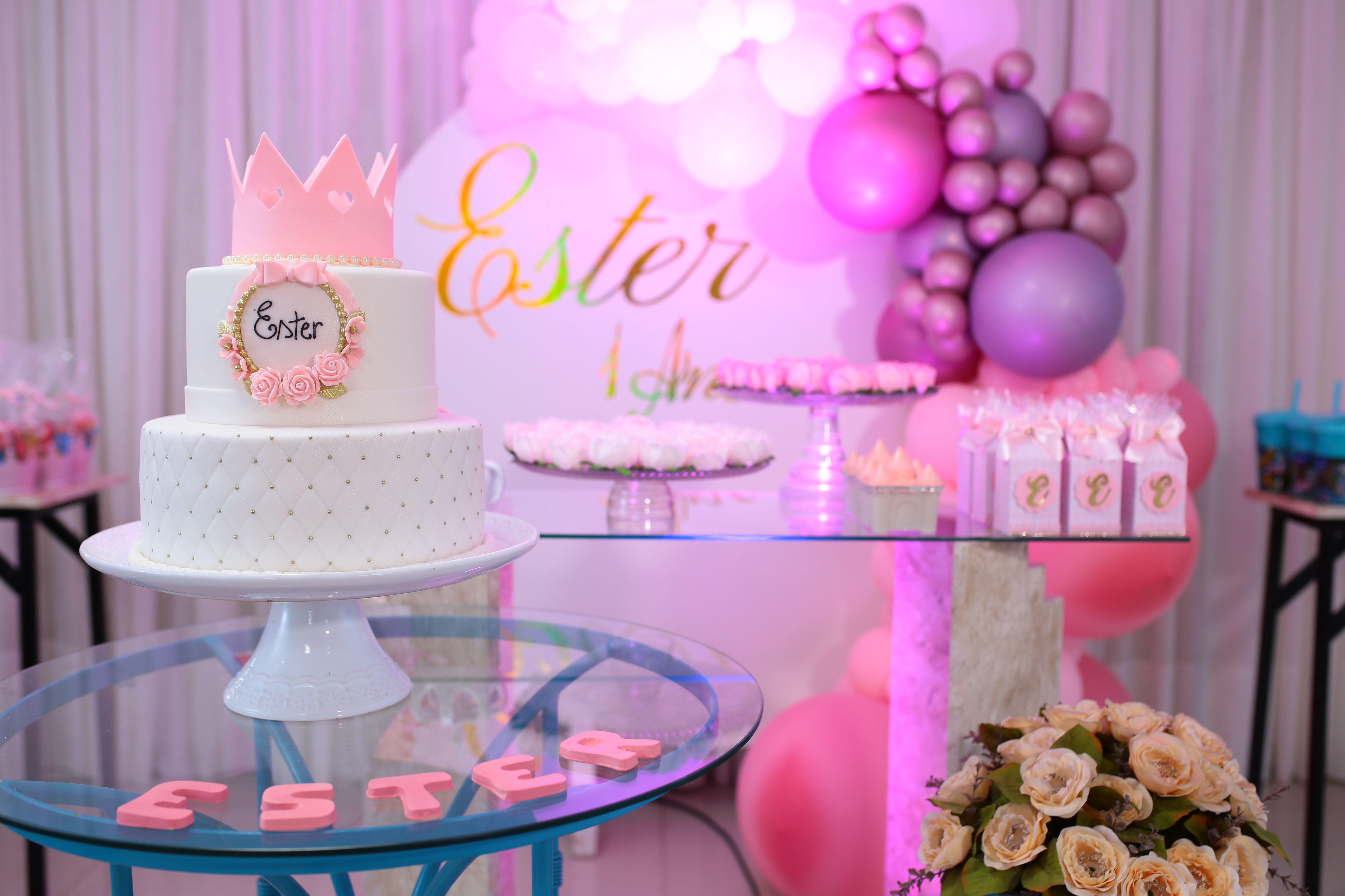 1 Aninho Da Princesa Ester Aniversario Princesa Princesa Festa
