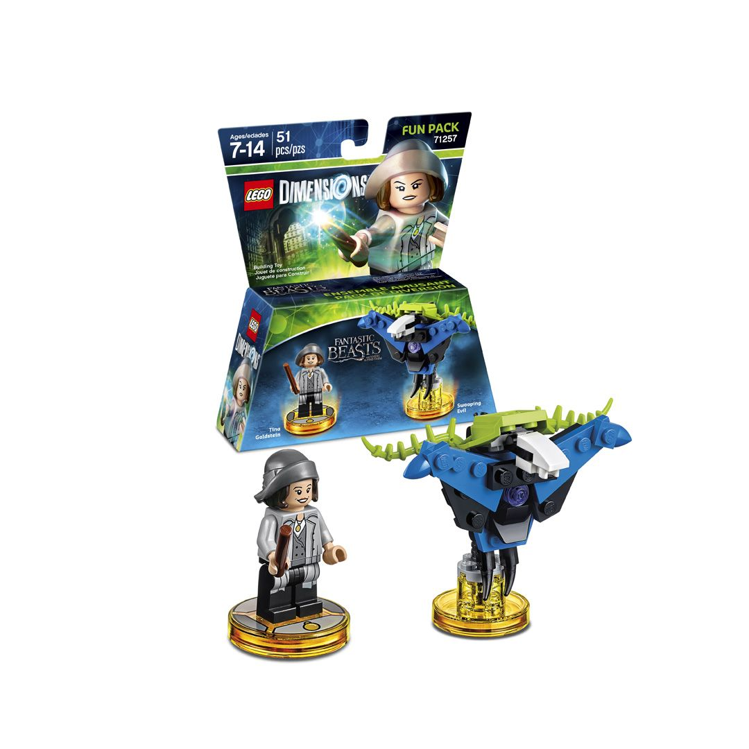 New LEGO Dimensions Fantastic Beasts Tina Goldstein Fun Pack 71257 Sealed