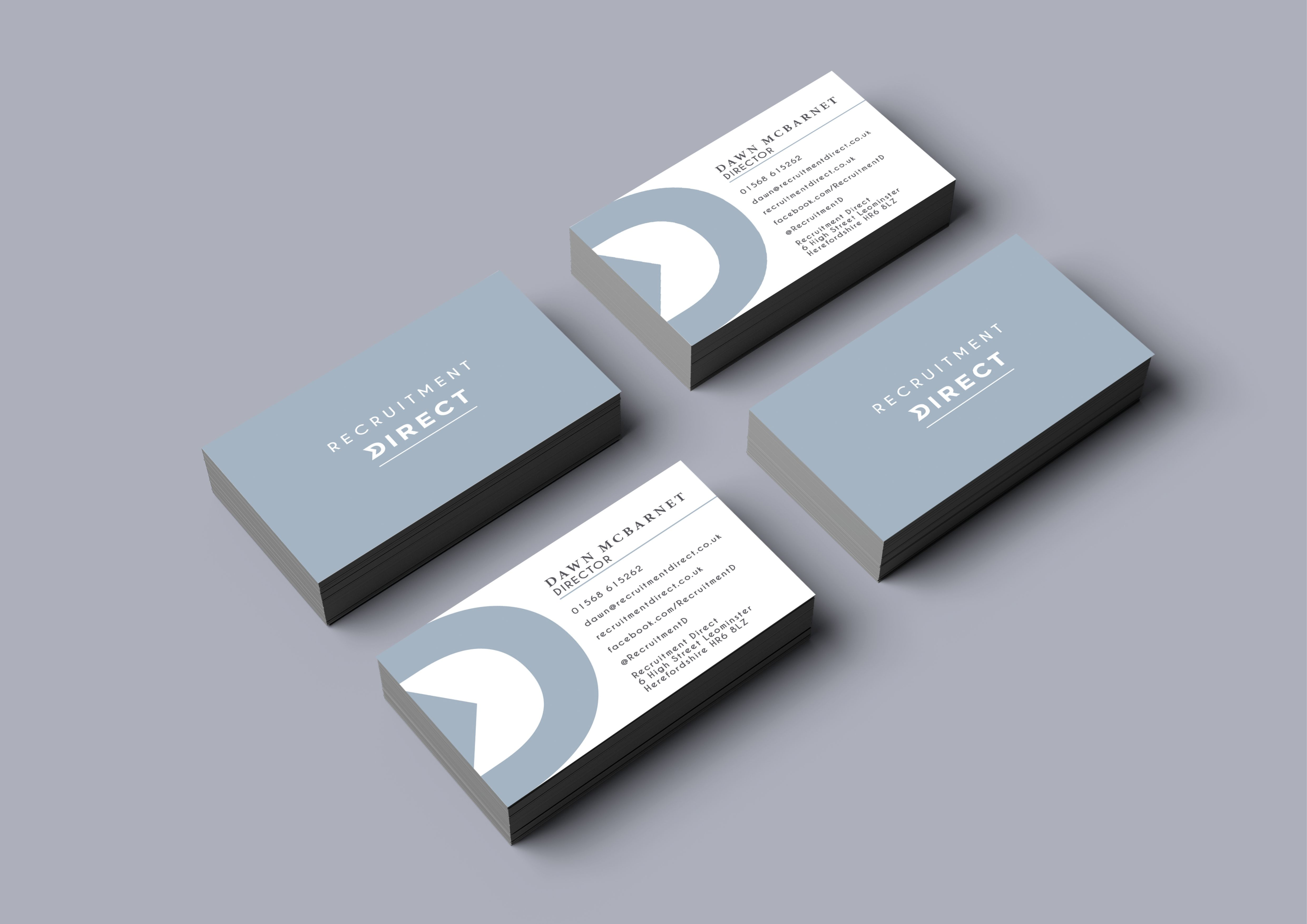 Recruitment Company Business Card Design By Www Theseedgroup Co Uk Contemporary Grey Minimal Creativ Company Business Cards Business Card Design Card Design