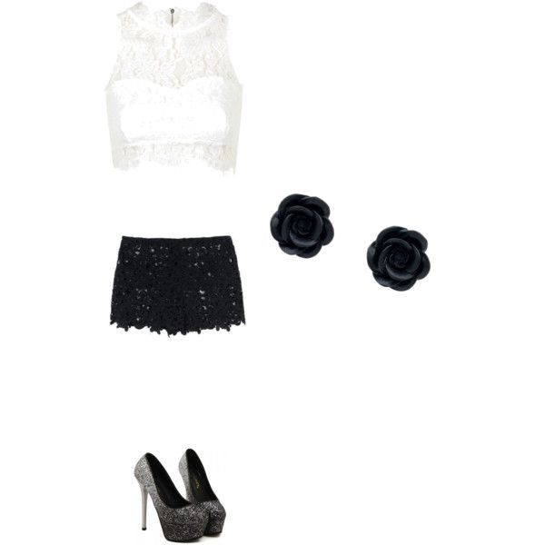 Going to the club by brittneydelis on Polyvore featuring polyvore, fashion, style, Topshop and Valentino